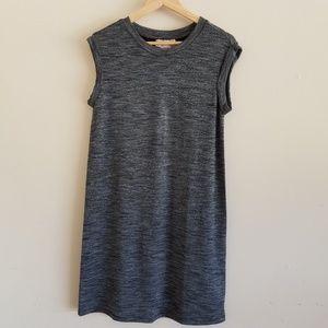 Philosophy Athleisure Grey Muscle Sleeve Dress